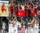 2010 FIBA World Final, Turkey vs United States