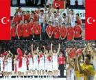 Turkey, 2nd place of the 2010 FIBA World, Turkey