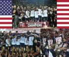 United States Champions of the 2010 FIBA World, Turkey