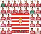 Team of Sporting de Gijón 2010-11