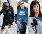 Edurne Pasaban is a Spanish mountaineer and the first woman in history to ascend to the 14 eight thousand (mountains over 8000 meters) from the planet.