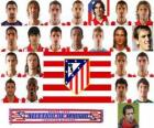Team of Atlético Madrid 2010-11