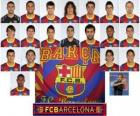 Team of FC Barcelona 2010-11