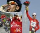 Vicenzo Nibali (Liquigas) champion of the Tour of Spain 2010