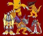 Agumon is one of the main Digimon. Agumon is a very brave and fun Digimon