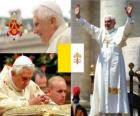 Benedict XVI, Joseph Alois Ratzinger is the 265 th Pope of the Catholic Church.