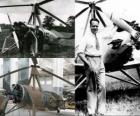 Juan de la Cierva y Codorniu (1895 - 1936) invented the autogyro, forerunner of today's helicopter unit.