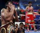 Manny Pacquiao also known as Pac-Man, is a Filipino professional boxer.