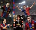 Golden Boot 2009-10 Leo Messi (ARG) FC Barcelona