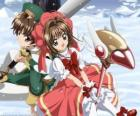 Sakura and Syaoran Li, a descendant of Clow Reed, the wizard who created the Clow cards