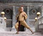 The avatar Aang is the main protagonist of the adventure and his destiny is to master the four elements: Air, Water, Earth and Fire