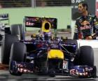 Mark Webber - Red Bull - Singapore 2010 (3rd place)