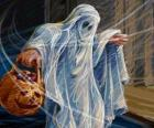 A Halloween ghost