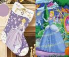Boots Christmas decorated with the Disney Cinderella character