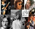 John Lennon (1940 - 1980) musician and composer who became famous worldwide as one of the founding members of The Beatles.