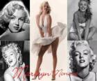Marilyn Monroe (1926 - 1962) was a model and actress of American film