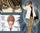 Light Yagami also known as Kira, the protagonist of the anime Death Note
