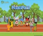 The Pokopets new characters Panfu