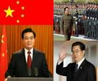 Hu Jintao General Secretary of Chinese Communist Party and president of the PRC