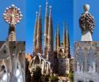 Expiatory Church of the Holy Family - Sagrada Família - Barcelona, Spain.
