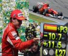 Fernando Alonso - Ferrari - Brasilian GP 2010 (3rd place)