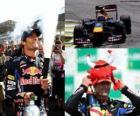 Mark Webber - Red Bull - Interlagos, Brazil Grand Prix 2010 (2 º Classified)