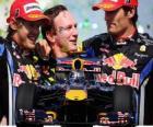 Red Bull F1 constructors' champion 2010