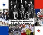Panama's national holidays. November 3, Independence Day. November 4th, Flag Day