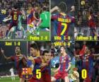 FC Barcelona 5, Real Madrid 0