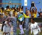 Club Social y Deportivo Comunicaciones champion of the Apertura 2010 (Guatemala)