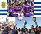 Defensor Sporting Club champion of Torneo Apertura 2010 (URUGUAY)