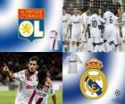 UEFA Champions League Eighth finals of 2010-11, Olympique lyonnais - Real Madrid CF