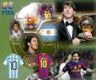 FIFA Ballon d'Or 2010 winner Lionel Messi