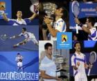 Novak Djokovic 2011 Australia Open champion