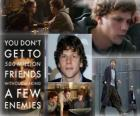 Jesse Eisenberg nominated for the 2011 Oscars as best actor for The Social Network