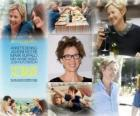 Annette Bening, nominated for the 2011 Oscars as best actress for The Kids Are All Right
