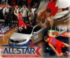 Blake Griffin is the new king of the 2011 NBA Slam Dunk