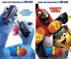 Rio movie posters, with some characters (1)
