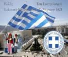 Independence Day of Greece, March 25, 1821. War of Independence or Greek Revolution