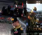 Vitaly Petrov - Renault - Melbourne, Australia Grand Prix (2011) (3rd place)