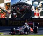 Lewis Hamilton - McLaren - Melbourne, Australia Grand Prix (2011) (2nd place)
