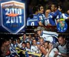 FC Porto Portuguese League Champion 2010-11