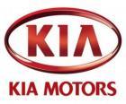 Logo of KIA Motors, South Korean automobile manufacturer