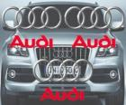 Audi logo, German car brand