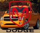 Dodge logo, American automobile brand