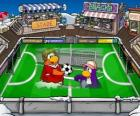 Club Penguin: The football game in the Club Penguin