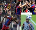 Eric Abidal returns to play after a tumor operation