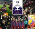 Fc Barcelona qualified for the finals of the UEFA Champions League 2010-11