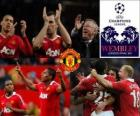 Manchester United qualified for the finals of the UEFA Champions League 2010-11
