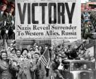 Commemorating the Allied victory over Nazism and the end of World War II. Victory Day, May 8, 1945